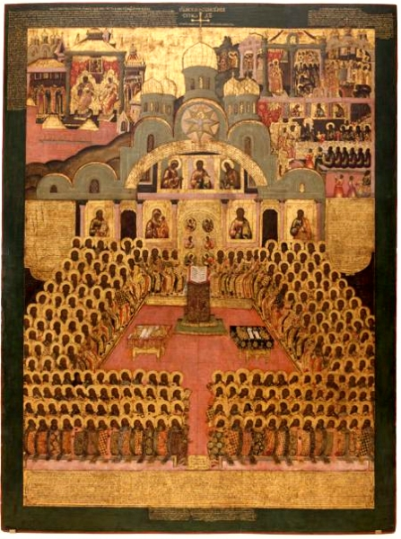 Seventh ecumenical council Icon